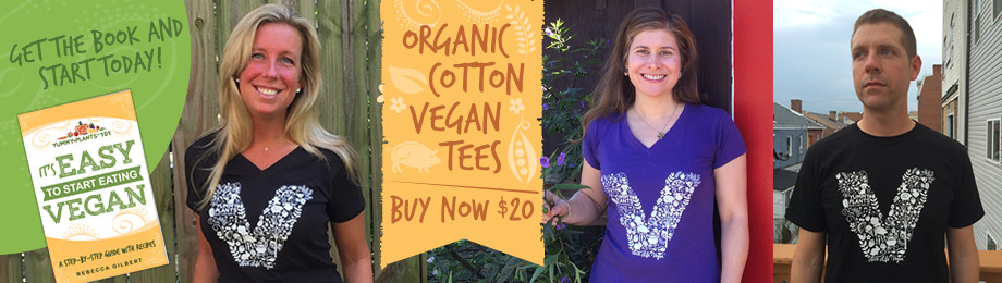 Yummy Plants 101. Love Life. Vegan. New Organic Tees from Yummy Plants!
