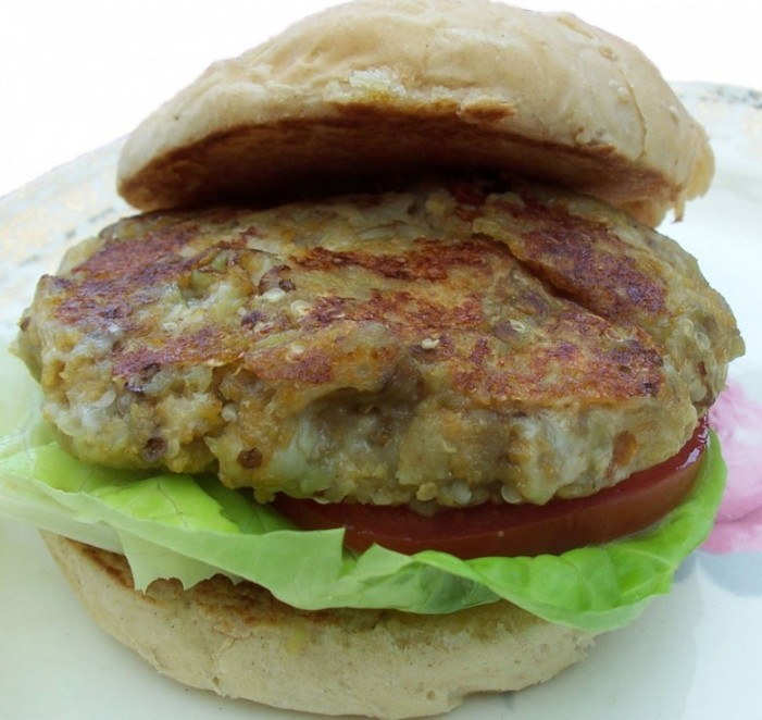 Vegan Recipe - Eggplant Patties