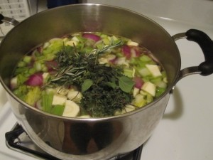 Vegan Recipe - Vegetable Stock