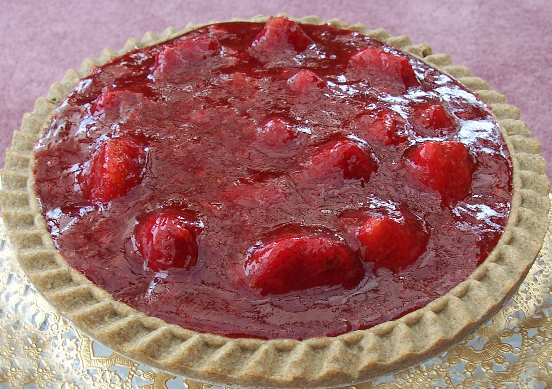 Vegan Recipe - Vegan Strawberry Pie