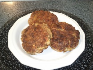 Vegan Recipe - Tempeh Sausage Mix…yum