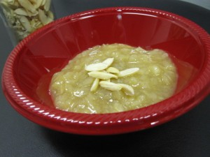 Vegan Recipe - Lemon Applesauce Pudding