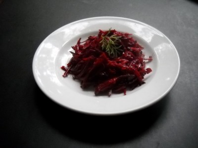 Vegan Recipe - Raw Beet Salad