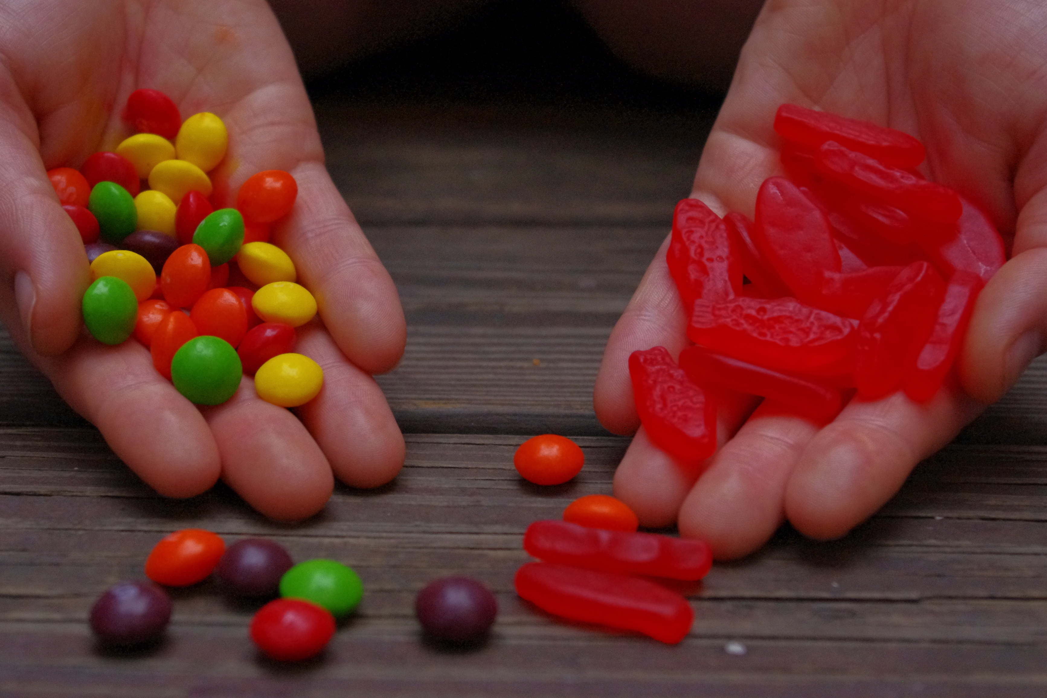 accidentally vegan skittles and swedish fish are vegan