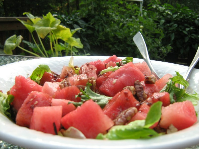 Vegan Recipe - Watermelon Salad