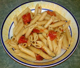 Roasted Heirloom Cherry Tomato Pasta Sauce