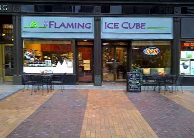 The Flaming Ice Cube