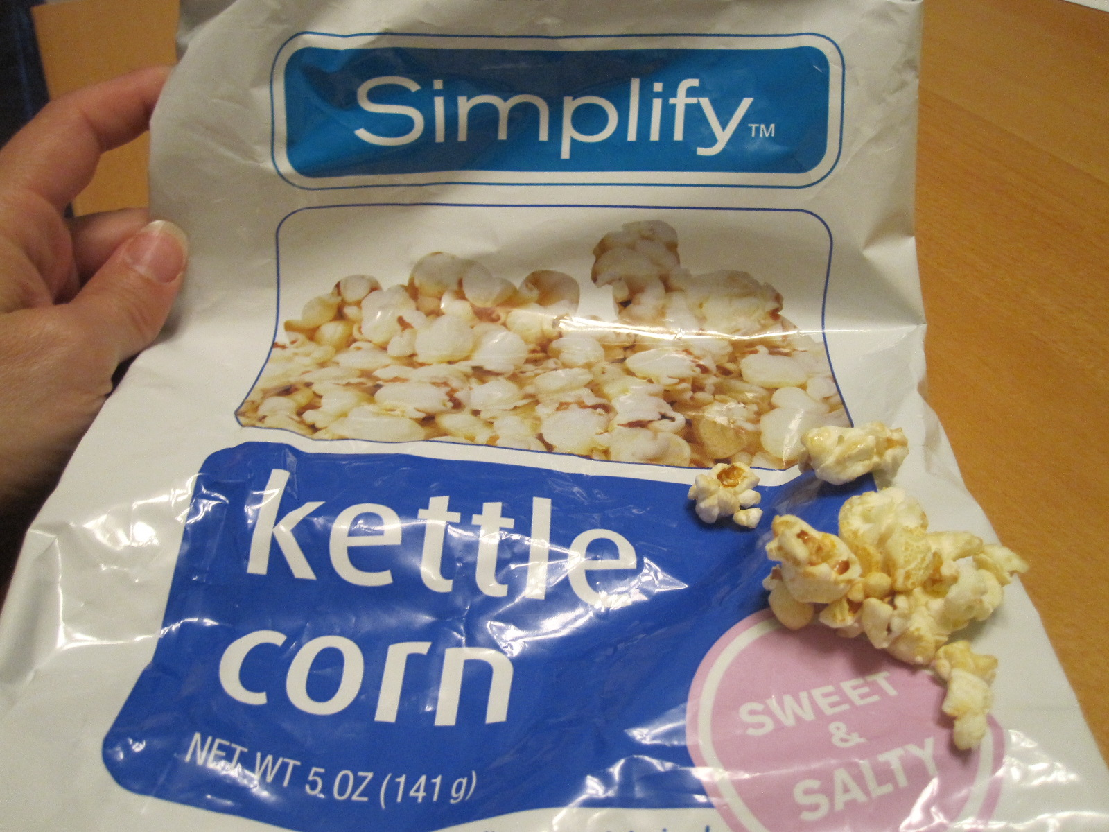 "Accidentally Vegan: Rite-Aid ""Simplify"" Kettle Corn!"