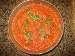 Vegan Recipe - Gazpacho
