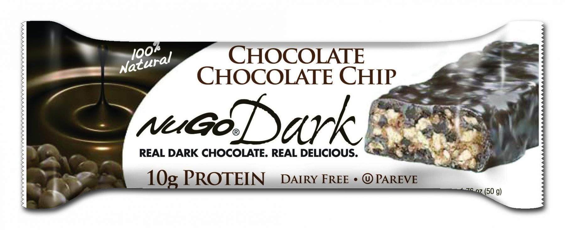 Accidentally Vegan: Chocolate Chocolate Chip Bar from NuGo Nutrition Bars!