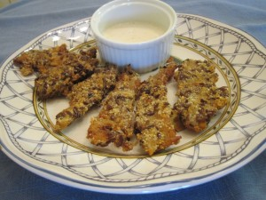 "Vegan Recipe - Seitan ""Chick'n"" Strips"