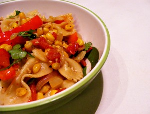 Vegan Recipe - South of the Border Pasta