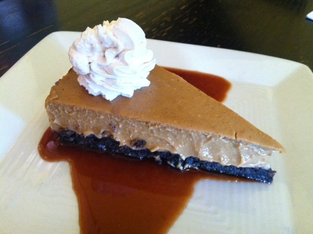 "Pumpkin Pie ""Cheesecake"""