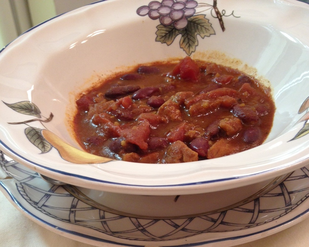 Quick and Mild Veggie Chili