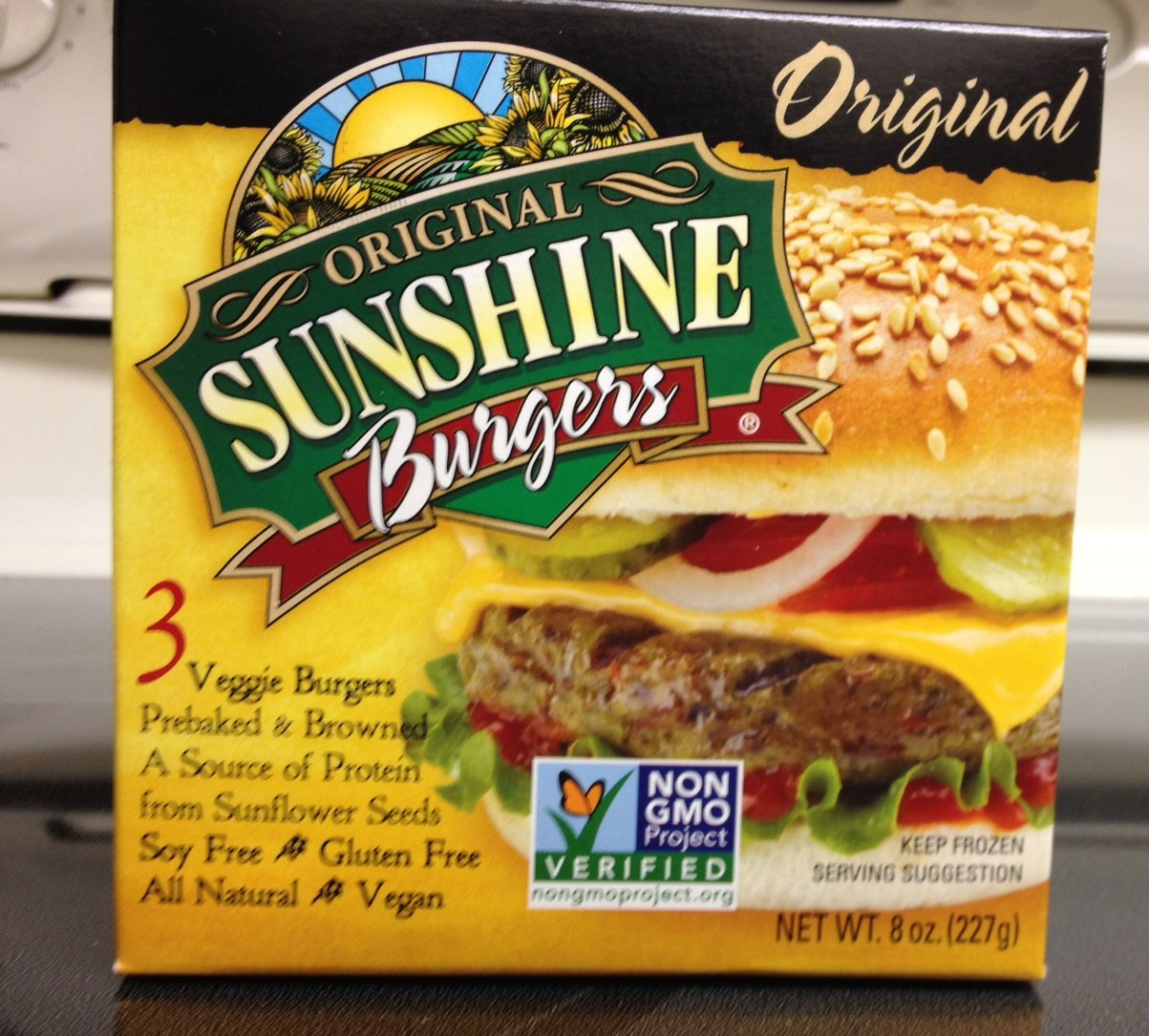 Vegan Sunshine Burgers!