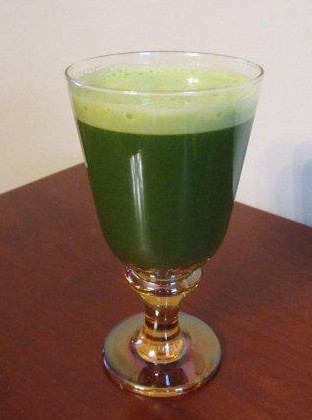 Vegan Recipe - Raw Cruciferous Juice