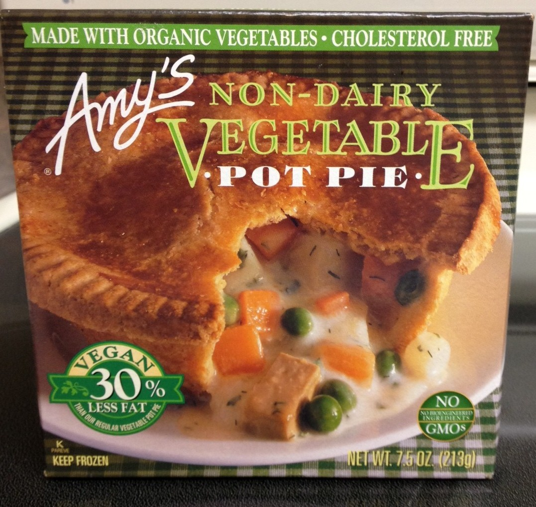 Accidentally Vegan: Veggie Pot Pie from Amy's Organics!