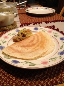 Vegan Recipe - Dosas (from scratch!): Fermented Lentil and Rice Crepes