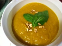 Vegan Recipe - Creamy Pumpkin Soup