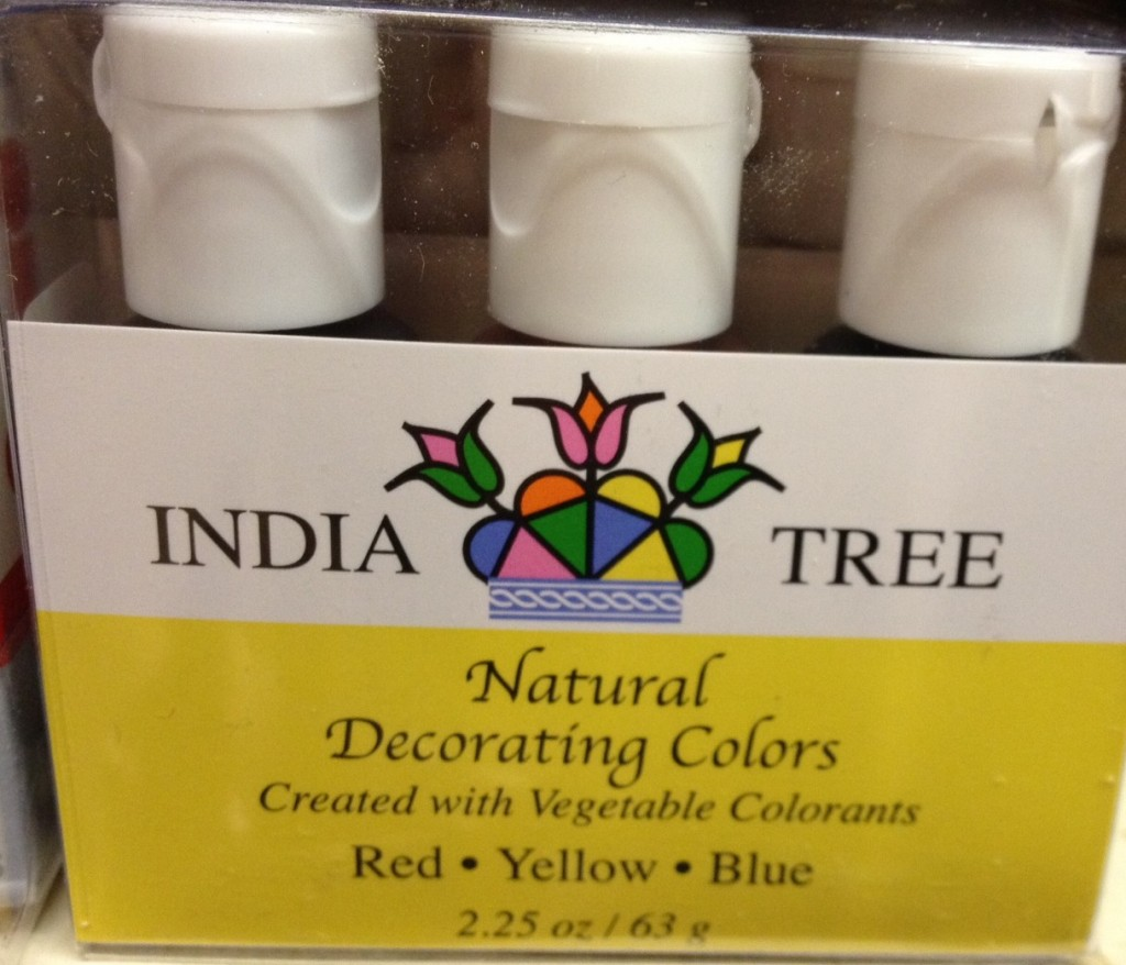 Accidentally vegan: Natural Decorating Colors from India Tree