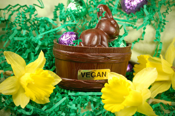 "Vegan Easter Tips for Baskets, Easter Dinner, & Decorating ""Eggs"""