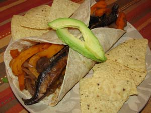 Vegan Recipe - Fajitas