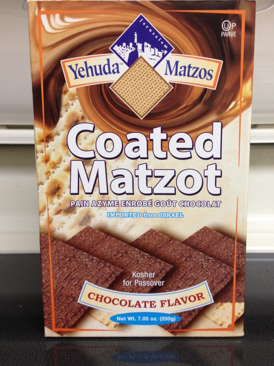 Accidentally Vegan: Chocolate Coated Matzo by Yehuda Matzos!