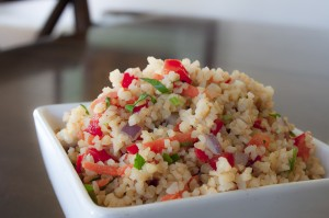Vegan Recipe - Garden Bulgar