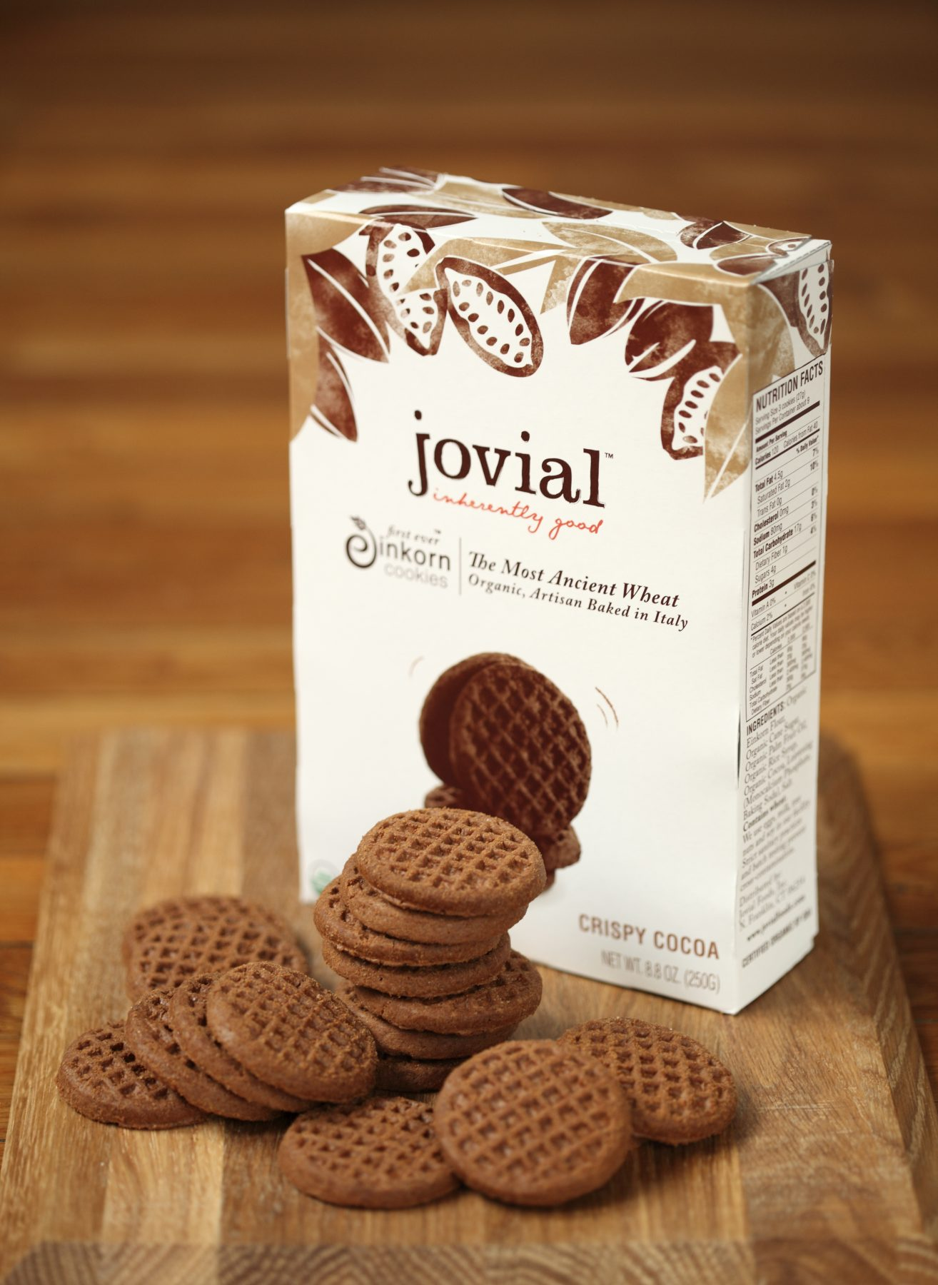 Accidentally Vegan: Einkorn Crispy Cocoa Cookies by Jovial!