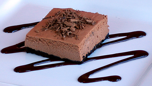 Vegan Recipe - Chocolate Cheesecake Squares