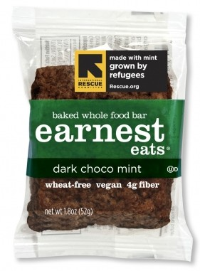 Earnest Eats Dark Chocolate Mint Bar Review