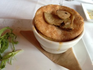 Vegan Recipe - Porcini Mushroom Pot Pie <br/> from Millennium Restaurant in San Francisco