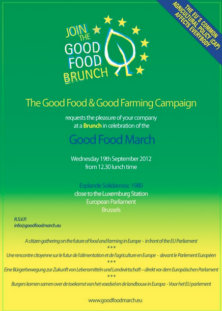 Good Food March on September 19th, 2012 – JOIN US!