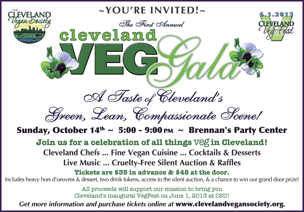 Cleveland VegGala 2012: Sunday, October 14th