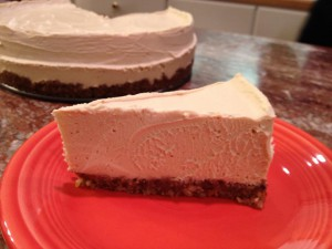 Vegan Recipe - Key Lime Raw Cheesecake