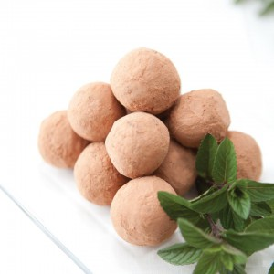 Vegan Recipe - Chocolate Mint Truffles (Gluten-Free)