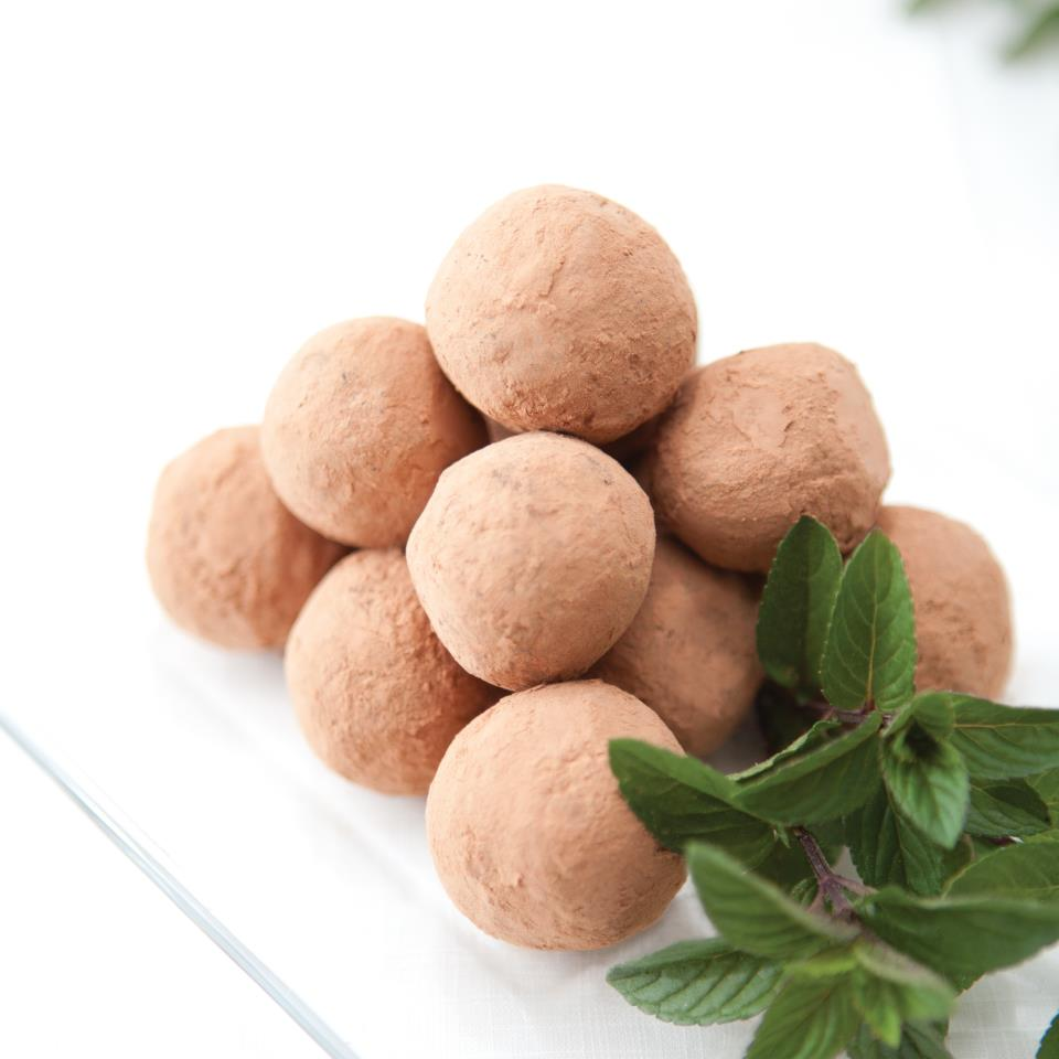 Chocolate Mint Truffles (Gluten-Free)