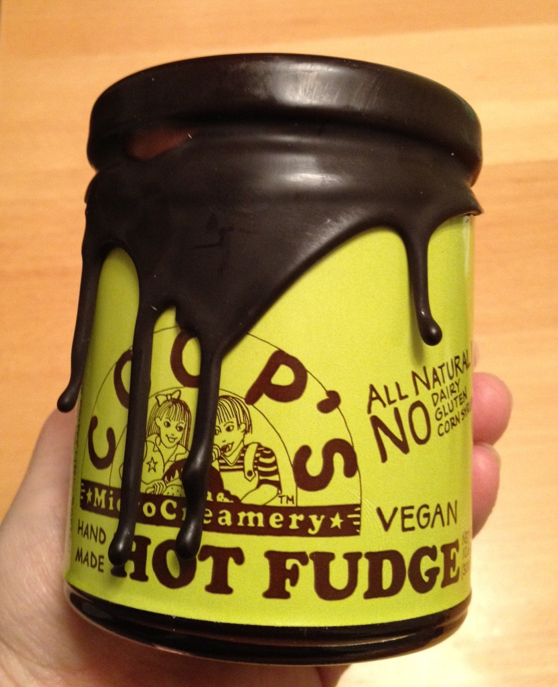 Vegan Hot Fudge (Coop's Microcreamery) Review