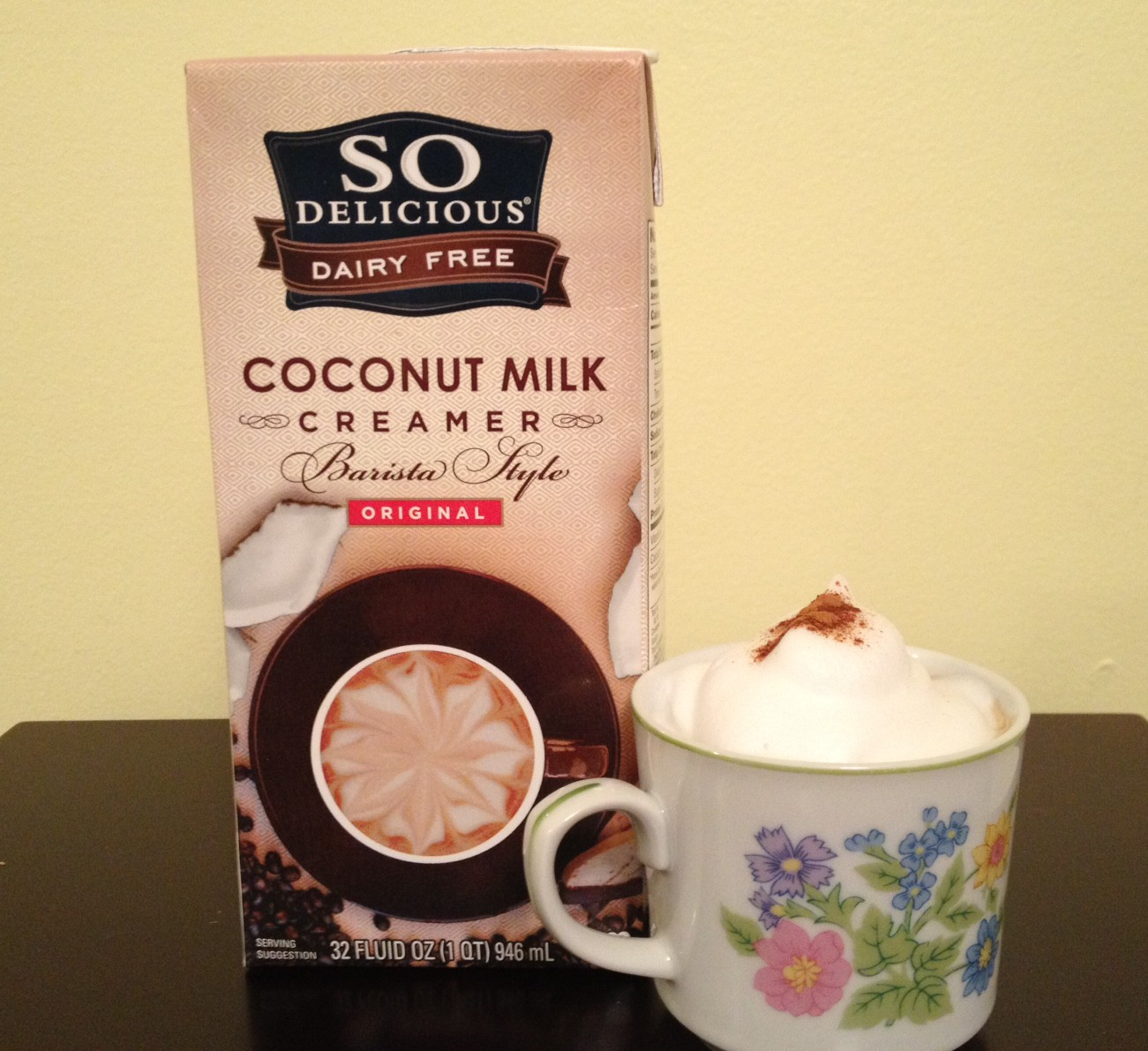 So Delicious Barista Style Coconut Milk Creamer Review