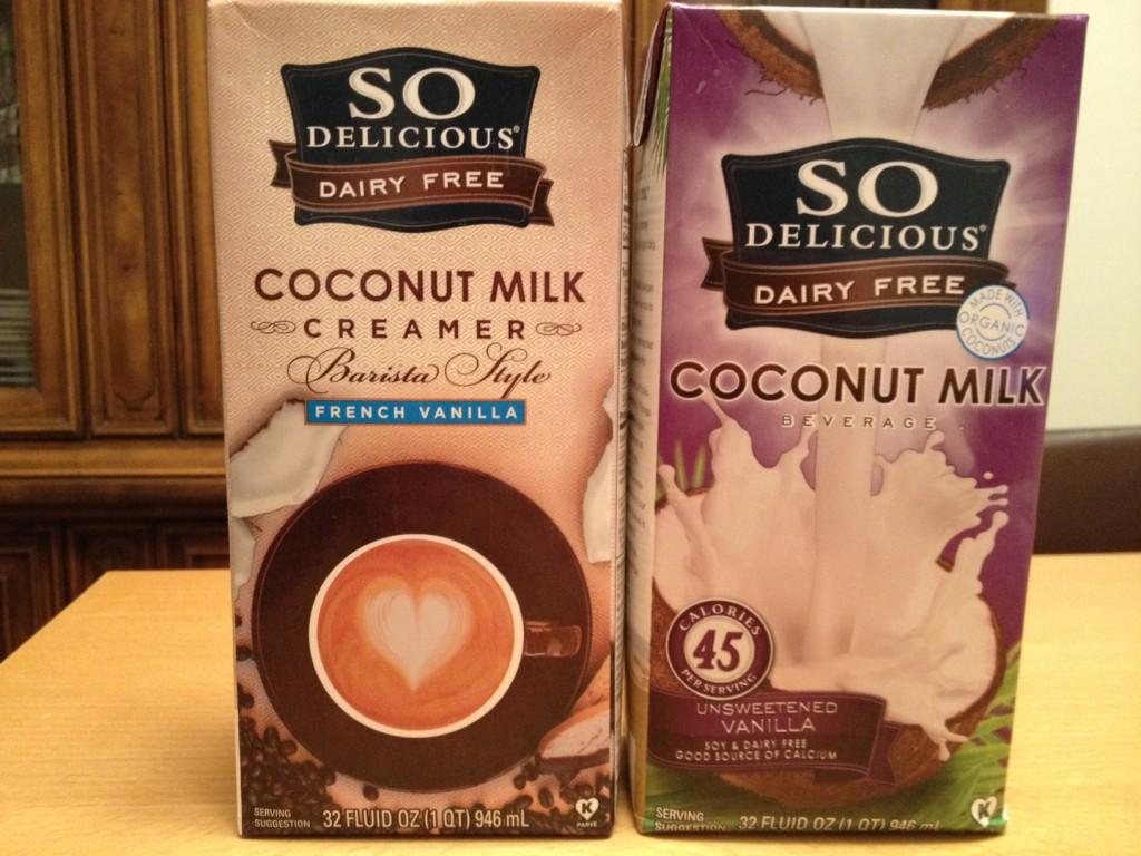 cappuccino So Delicious coconut milk