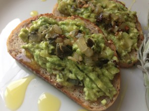Vegan Recipe - Avocado Bruschetta