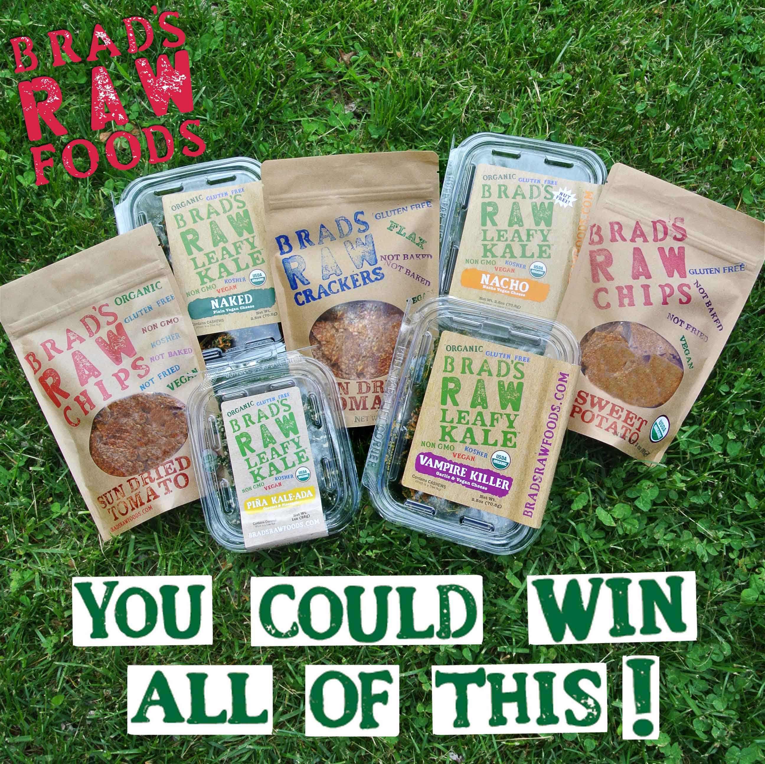 Brad's Raw Foods Giveaway!