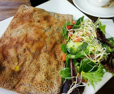 Let Us Know What You Think About This Awesome Vegan Friendly Restaurant La Crepe In Los Angeles California