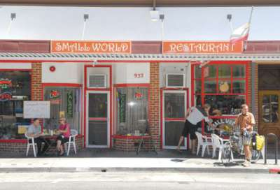 Small World Cafe vegan friendly restaurant in Napa CA