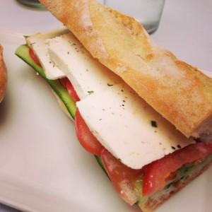 The Le Prevot cheese sandwich on Crossroads' lunch menu.