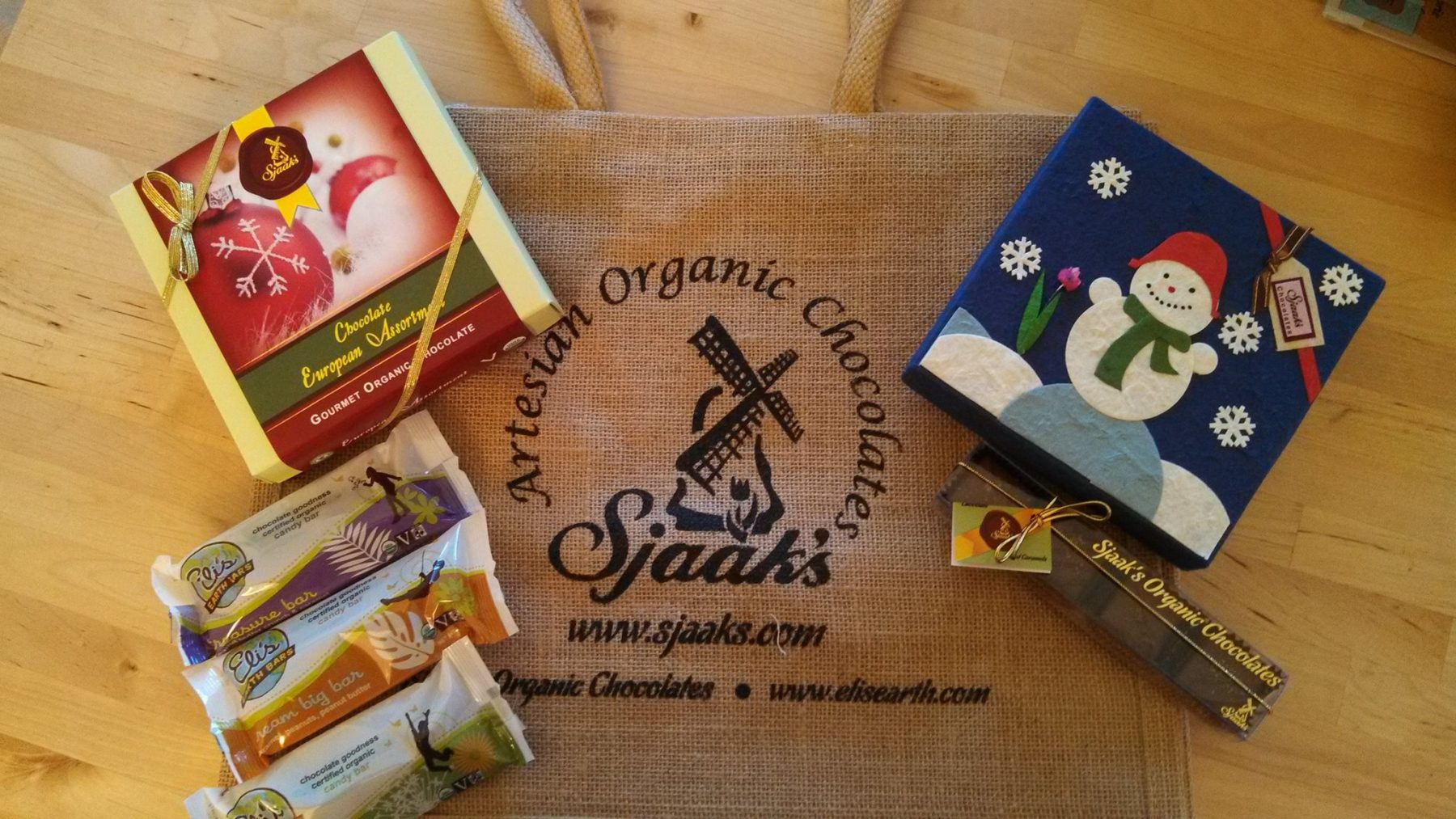Win Free Vegan Chocolate from Sjaak's!!!!