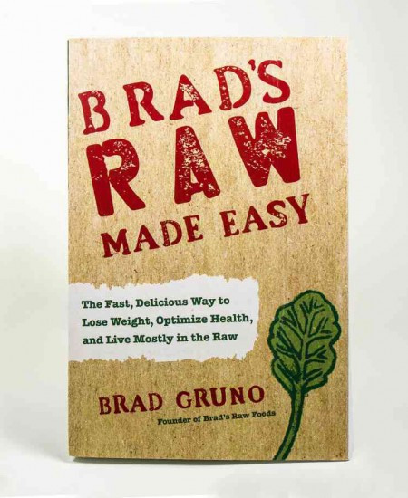 Win the New Brad's Raw Made Easy Cookbook!