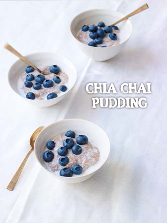 Vegan Recipe - Chia Chai Pudding – Raw