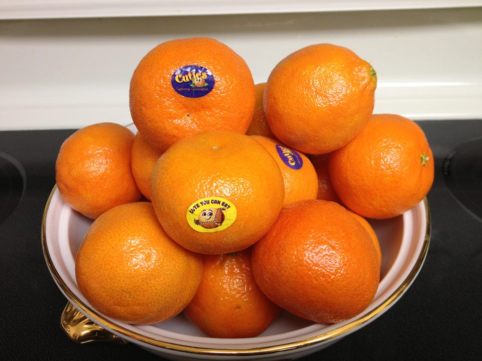 Win a Free Box of Cuties Clementines!