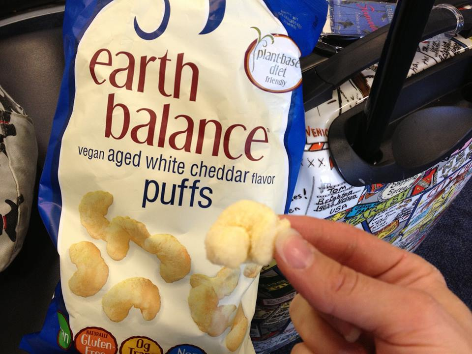 Earth Balance Vegan Cheese Puffs